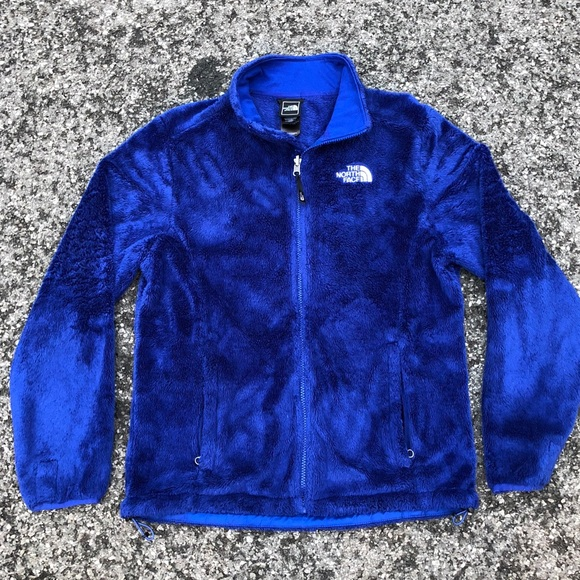 The North Face Osito High Blue Pile Fleece Jacket.  M 5bc8bec181bbc8d1c5c11634 4a8a07f91260